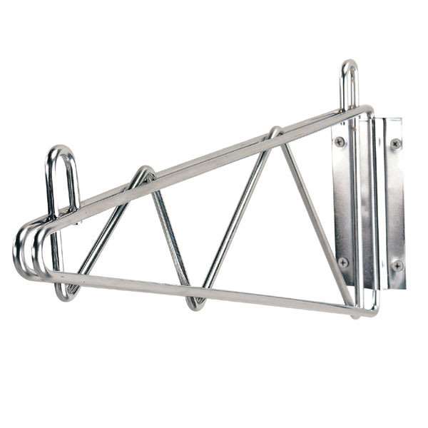 """Advance Tabco SB-14 14"""" Wire Wall Mounted Shelving Bracket - Mounting Hardware Included"""