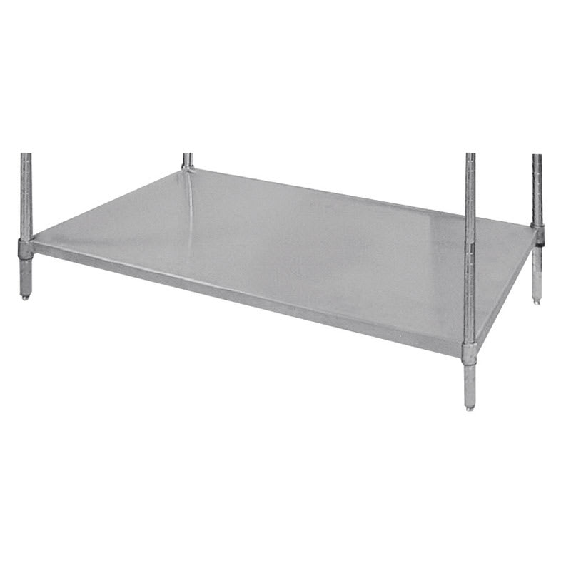 "Advance Tabco SH-1848 Stainless Steel Solid Shelf - 48""W x 18""D"