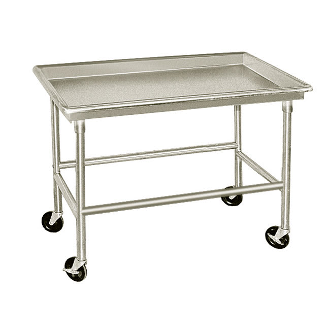 "Advance Tabco SR-48 48"" Sorting Table - 3"" Raised Edge, 30"" W, 16 ga 304 Stainless"