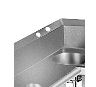 """Advance Tabco TA-107 Anti-Siphon Vacuum Breaker Holes"""" Splash, 2 Holes, Splash Made 2"""" D"""