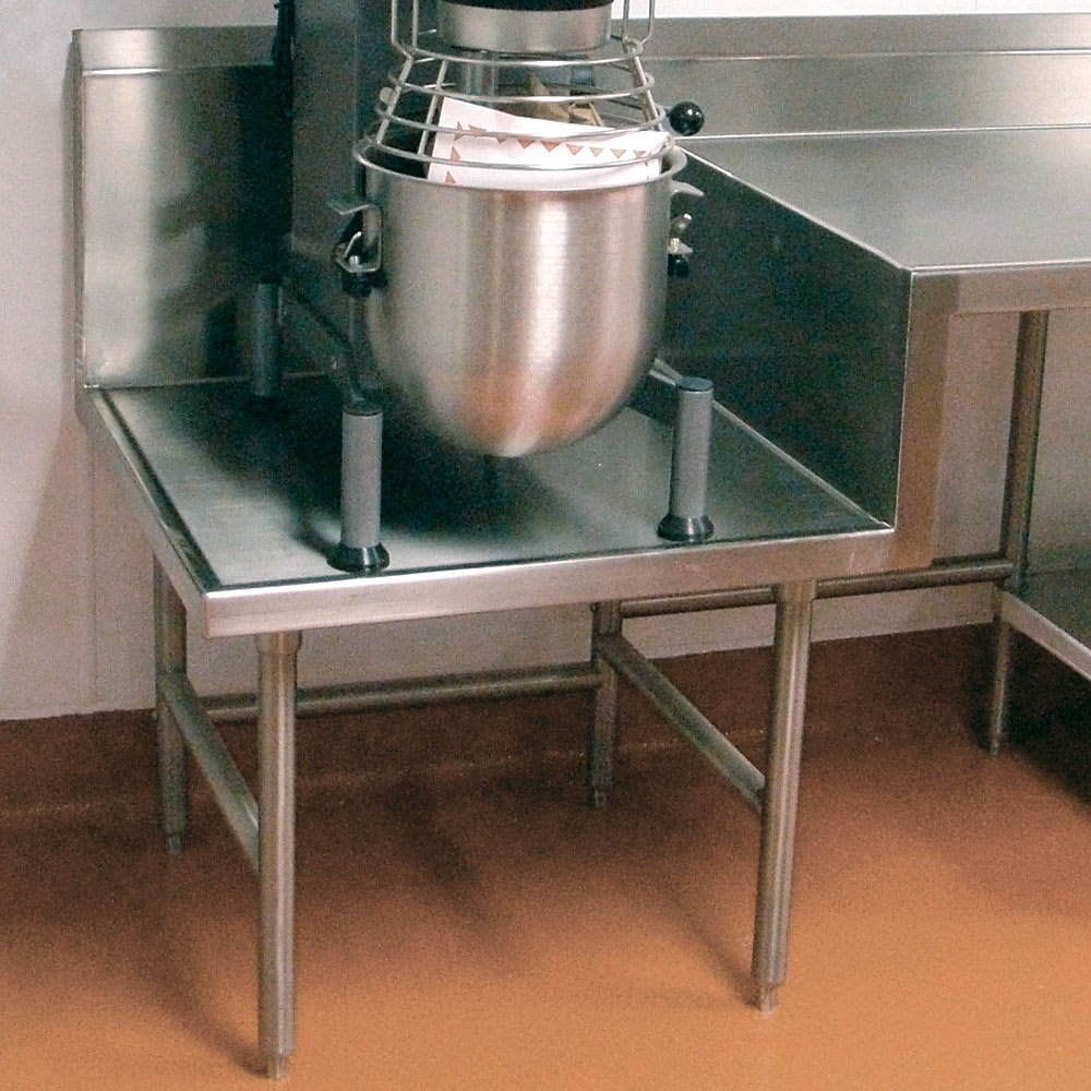 "Advance Tabco TA-58 Step-Down Top to 24"" Working Height, Each"