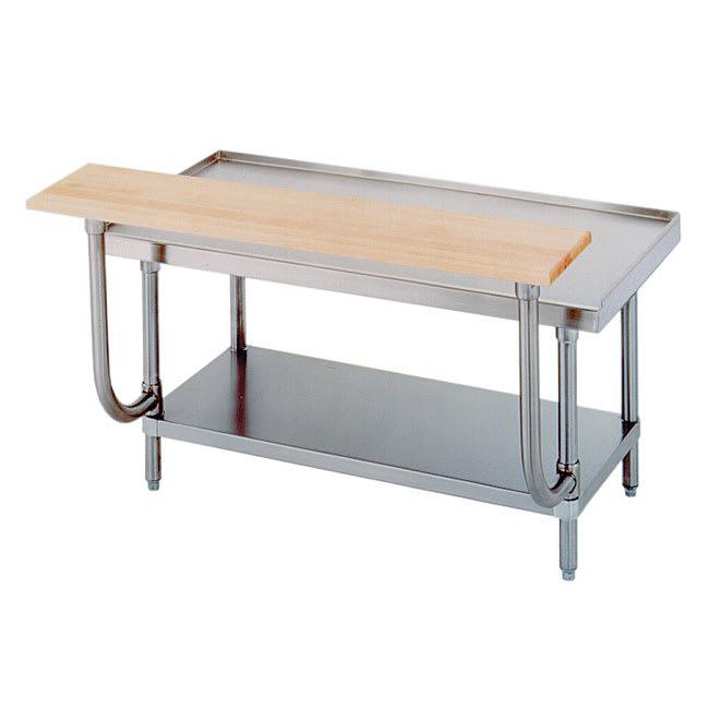 "Advance Tabco TA-924 48"" Adjustable Wood Cutting Board"
