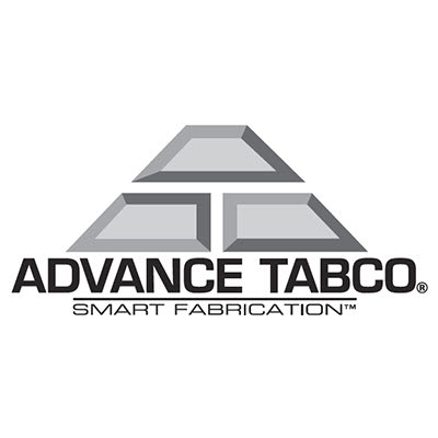 "Advance Tabco TA-98 1"" Flat Bar - Stainless"