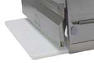 "Advance Tabco TA98SHDRE 5/8"" Poly Cutting Board - Storage Bracket for 20x15"" Drawer"