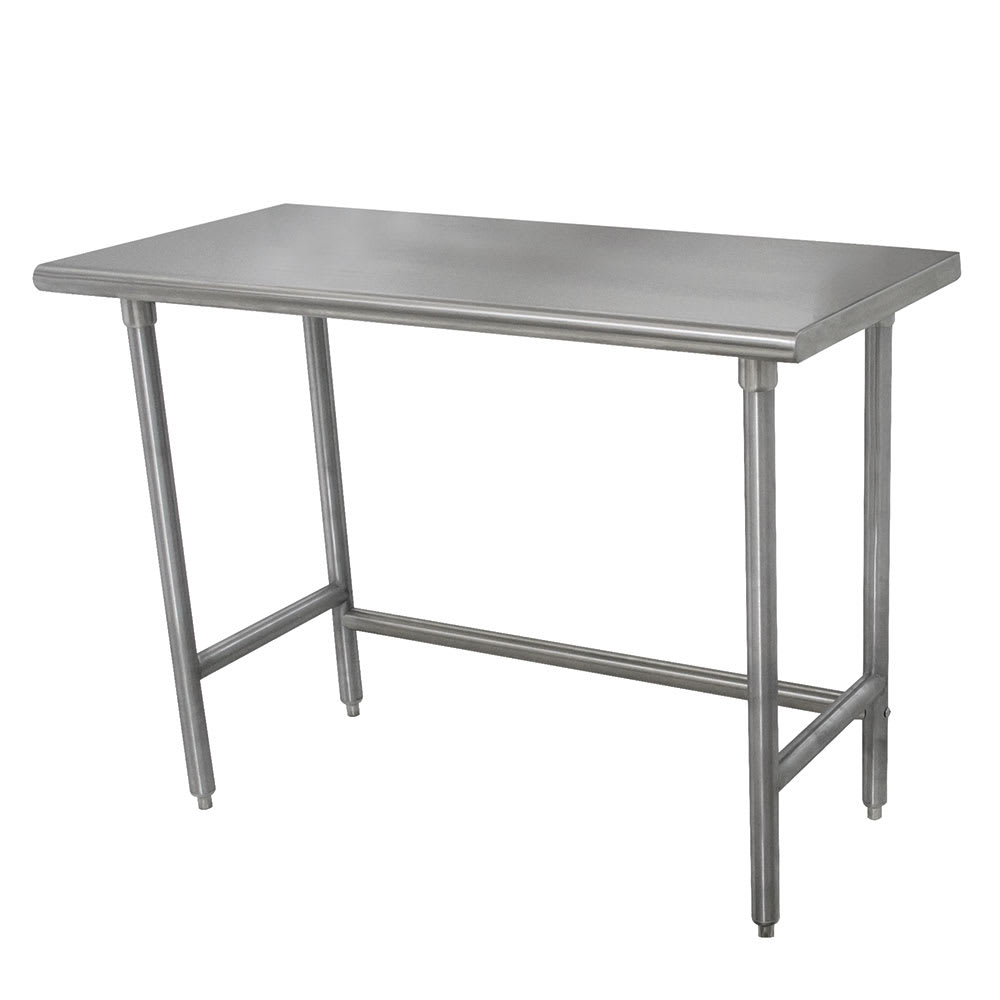 Advance Tabco TSLAG Ga Work Table W Open Base - Stainless steel open base work table