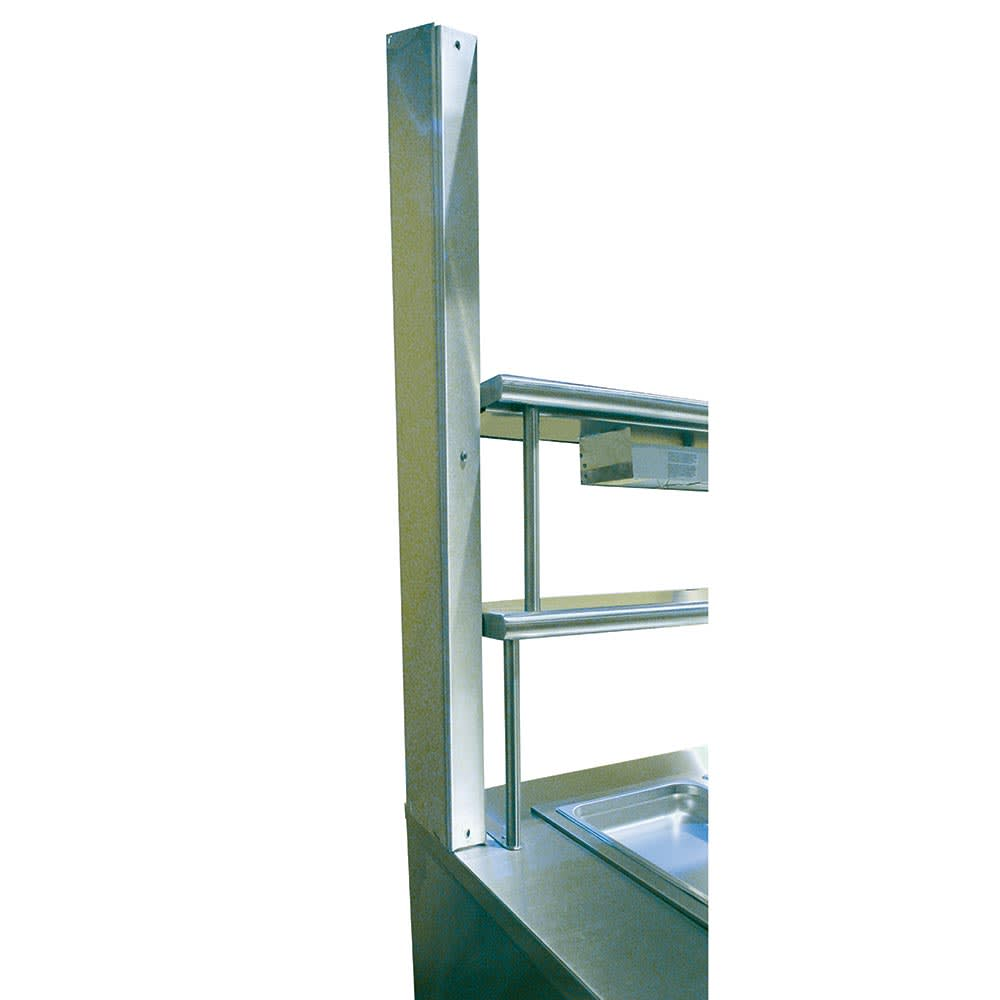 "Advance Tabco UCC-1 Wire Chase, Removable Panel, Adds 2-1/2"", for OTS, ODS, CU Shelves, Factory"