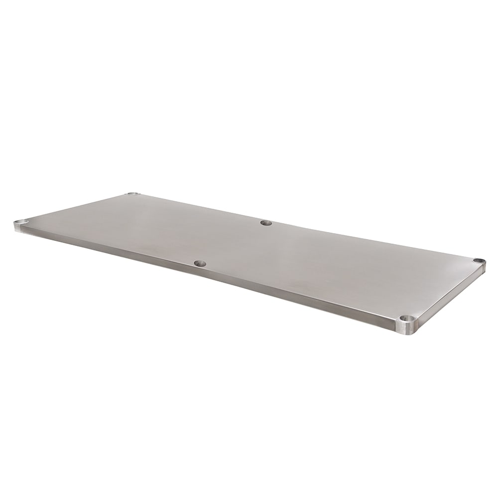 "Advance Tabco UG-24-120 24x120"" L Work Table Undershelf, Galvanized Finish"