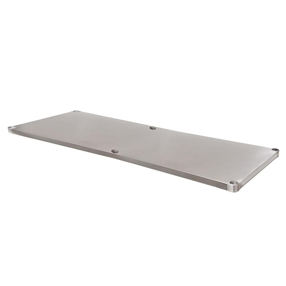 "Advance Tabco UG-24-144 Undershelf for 24x144"" Work Table, Galvanized Finish"
