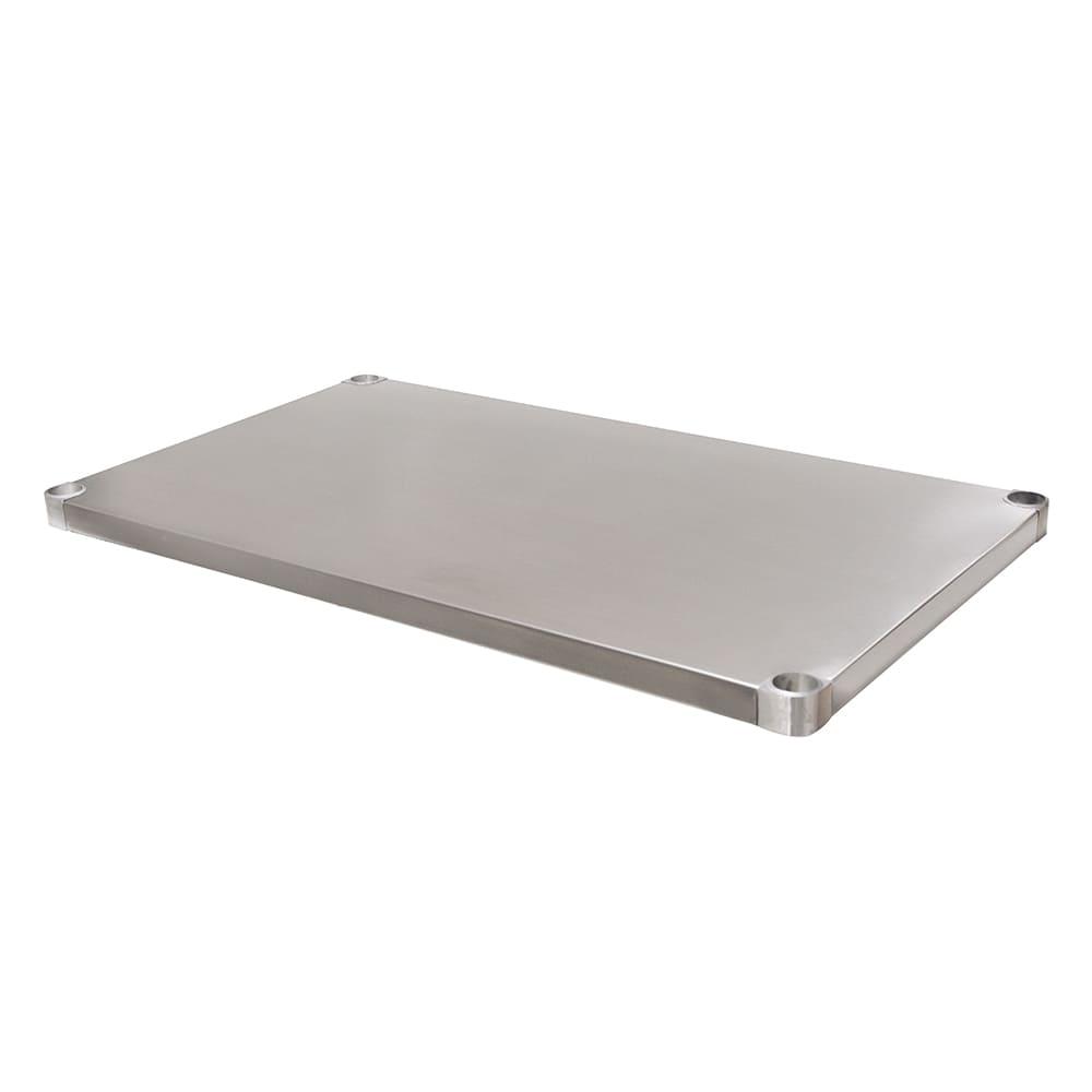 "Advance Tabco UG-30-48 Undershelf for 30x48"" Work Table, Galvanized Finish"