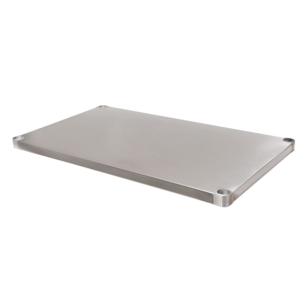 "Advance Tabco US-30-84 Undershelf for 30x84"" Work Table, 18 ga 430 Stainless"