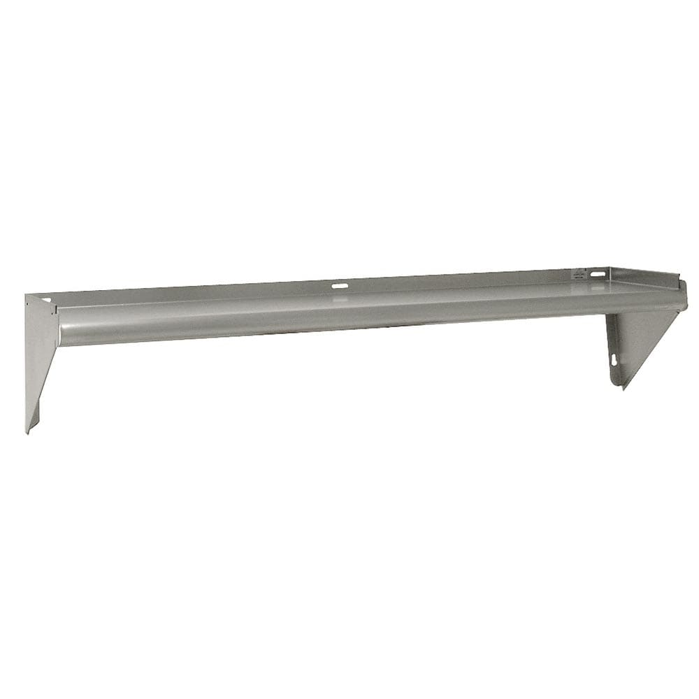 "Advance Tabco WS-KD-36 36"" Solid Wall Mounted Shelving"