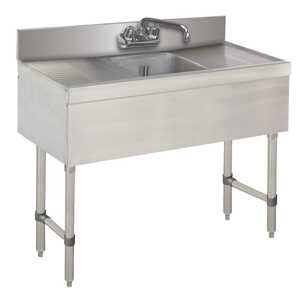 "Advance Tabco SLB-31C-X 36"" 1-Compartment Sink w/ 10""L x 14""W Bowl, 10"" Deep"