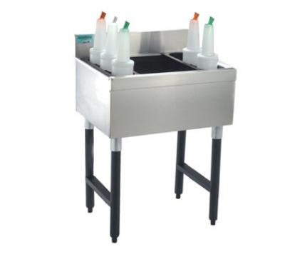 Advance Tabco SLJ-15 Slimline Cocktail Unit, 15 in W x 18 in D Overall, 8 in D Bin
