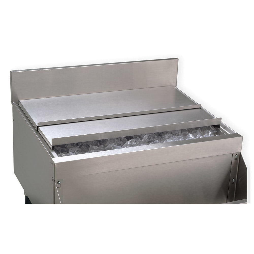 "Advance Tabco SSC-12 Ice Bin Sliding Cover for 12"" Unit, Stainless"