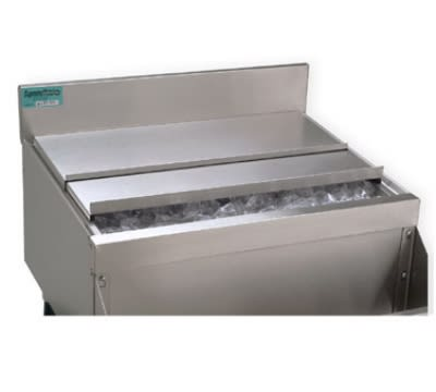 Advance Tabco SSC23 Sliding Ice Bin Cover For 24-in Bin, Stainless Steel