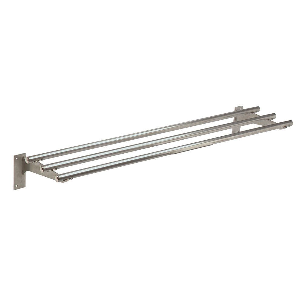 "Advance Tabco TTR-4 Triumph Stationary Tubular Tray Slide, 62.4"", Stainless"