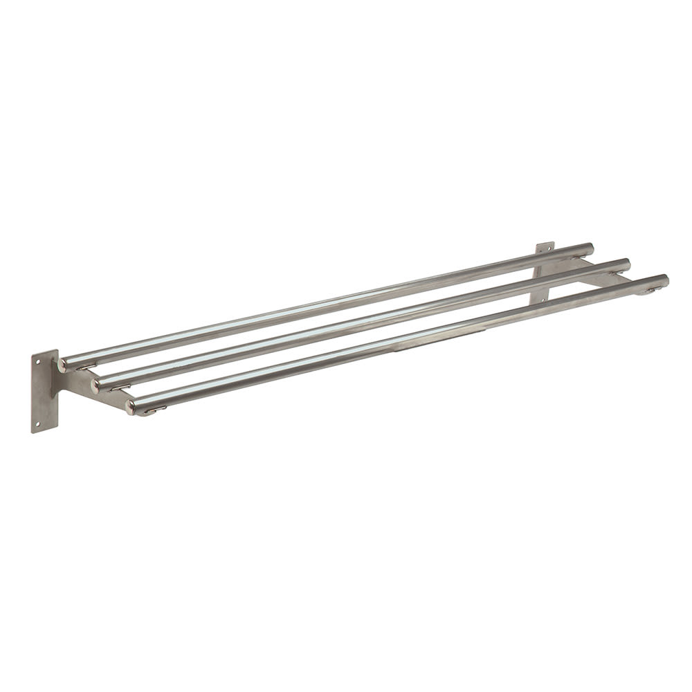 "Advance Tabco TTR-5 Triumph Stationary Tubular Tray Slide, 77.75"", Stainless"