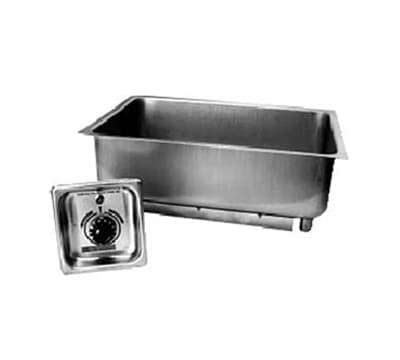 "APW BM-30 Built In Hot Food Well, 12 x 20"" Pan, Stainless, 208v/1ph"