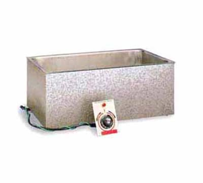 """APW BM-80C Built-in Hot Food Well Unit, (1) 12"""" x 20"""" Pan, Wet or Dry, 120v"""