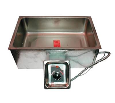 APW BM-80 UL Built-In Hot Food Well Unit w/ No Drain, Thermostatic Control, 208v/1ph