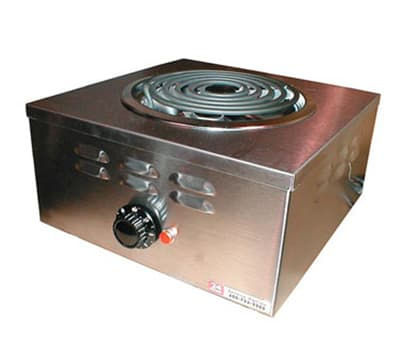"APW CHP-1A 12.75"" Electric Hotplate w/ (1) Burner & Infinite Control, 120v"