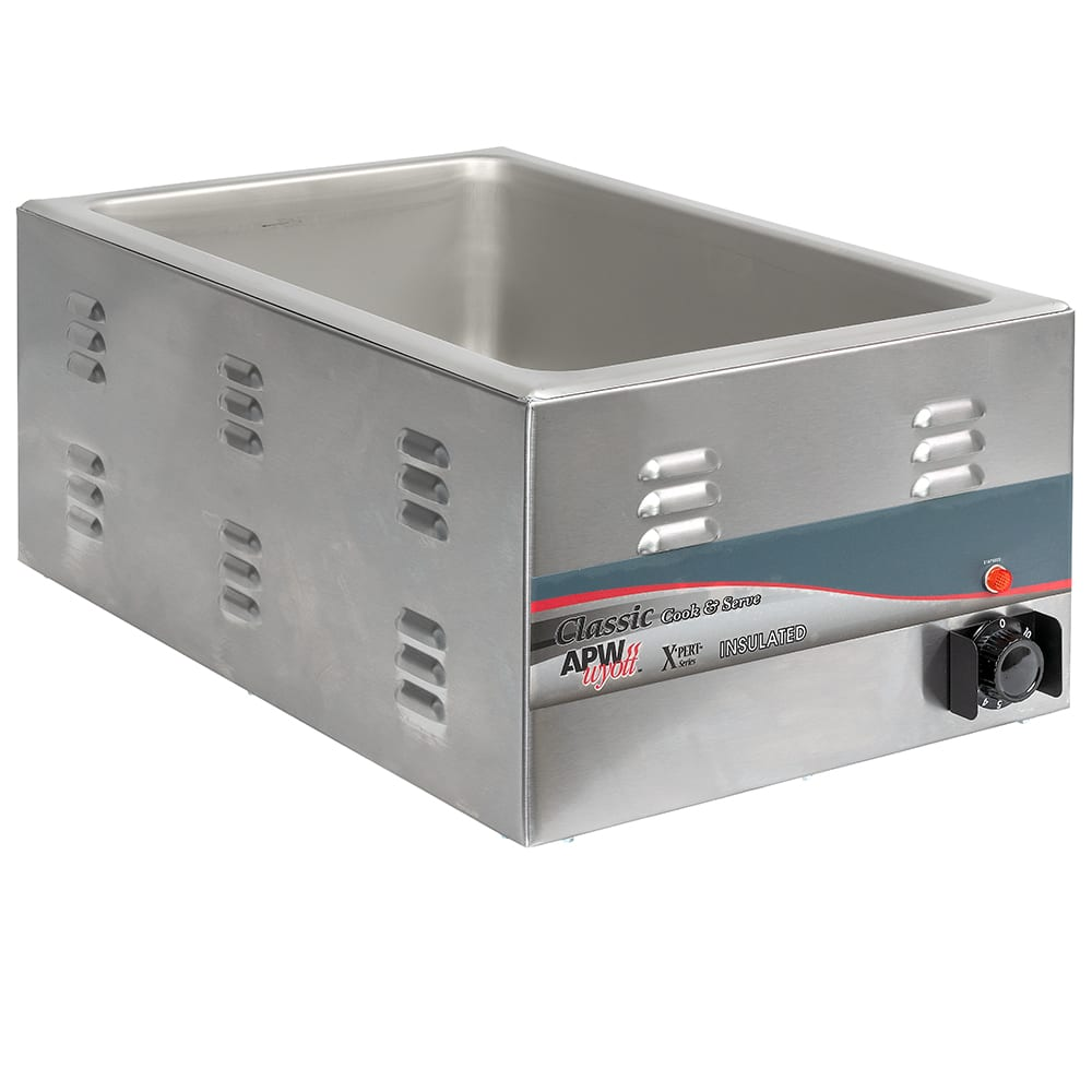 APW CW-2AI Countertop Food Warmer w/ (1) Full Size Pan Capacity, 120v