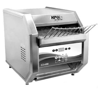 "APW ECO 4000-500E Conveyor Toaster - 500-Slices/hr w/ 1.5"" Product Opening, 240v/1ph"