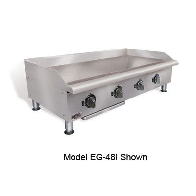 "APW EG-36I 36"" Electric Griddle - Thermostatic, 1"" Steel Plate, 240v/1ph"