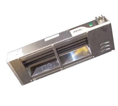 "APW FD-18H-T 18"" Heat Lamp - Single Rod, Infinite Control, 208v/1ph"