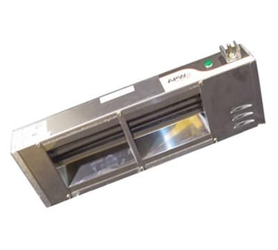 "APW FD-60H-T 60"" Heat Lamp - Single Rod, Toggle Control, 208v, 1610w"