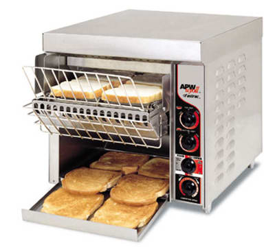 "APW FT-1000 Conveyor Toaster - 1000-Slices/hr w/ 1.5"" Product Opening, 240v/1ph"