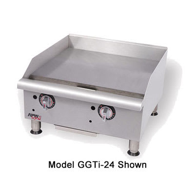 "APW GGT-36I 36"" Gas Griddle - Thermostatic, 1"" Steel Plate, NG"