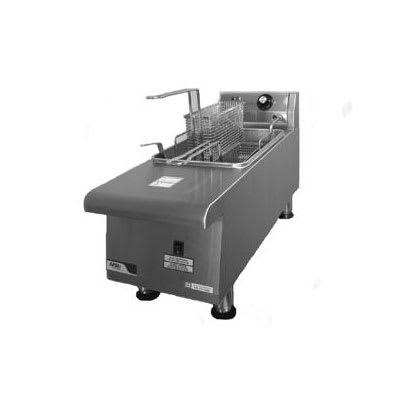 APW HEF-15SI Countertop Electric Fryer - (1) 15-lb Vat, 208v/1ph