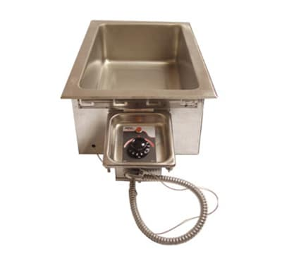 APW HFW-1D Drop-In Insulated Hot Food Well Unit, Wet or Dry, Drain, 240v/1ph