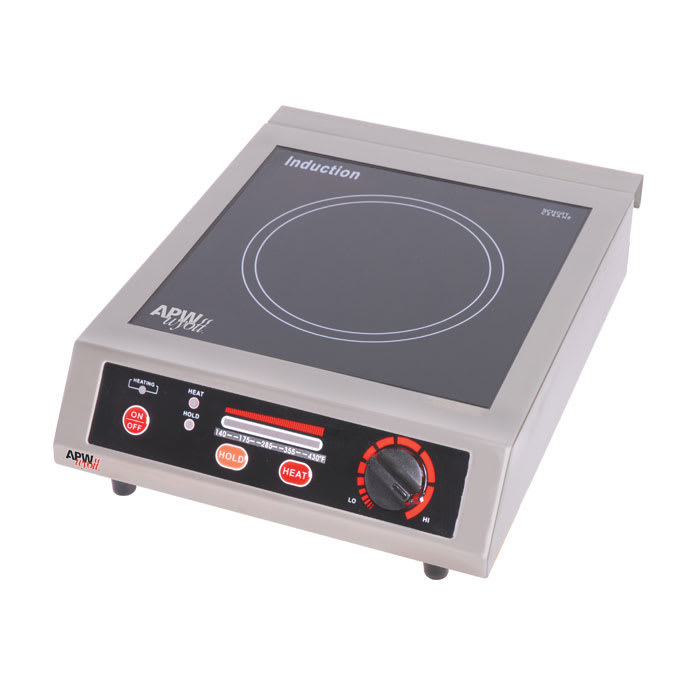 APW ICT-18A Countertop Commercial Induction Cooktop w/ (1) Burner, 120v