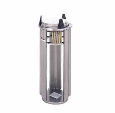 "APW L-6 Drop In Dish Dispenser w/ Open Frame, 1-Tube, Max 5-3/4"" Dish"