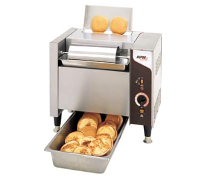 APW M-2000 Vertical Toaster - 1200 Bun Halves/hr w/ Butter Spreader, 208v/1ph
