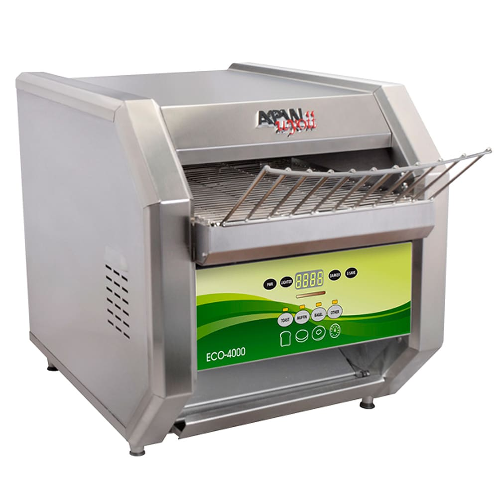 "APW ECO 4000-500E Conveyor Toaster - 500 Slices/hr w/ 1.5"" Product Opening, 208v/1ph"