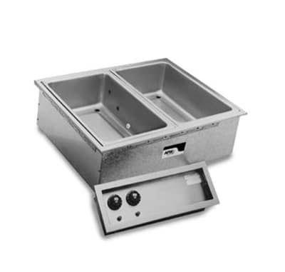 APW SHFWEZ-1D Drop-In Hot Food Well Unit w/ Drain & 1-Pan Size Capacity, 208v/1ph