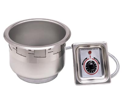APW SM-50-7D UL 7 qt Drop-In Soup Warmer w/ Thermostatic Controls, 120v