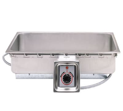 APW TM-43D Drop-In Hot Food Well w/ (1) 4/3 Size Pan Capacity, 120v