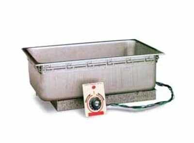 "APW TM-90D Drop-In Food Warmer, 12 x 20"" Pan Opening & Drain, 240v/1ph"