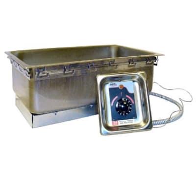 APW TM-90D UL Drop-In Food Warmer w/ Drain & Wet Dry Operation, 1200 W, 120/1 V