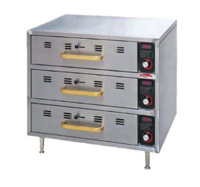 Bakemax BMCBW01 Countertop Drawer Warmer, 1 Drawer, Dial Control