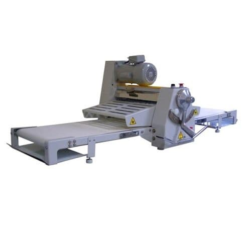 "Bakemax BMCRS02 Countertop Dough Sheeter, Reversible, 20 1/2"" X 67""Work Length, 110v"