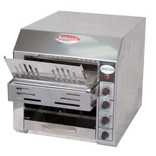 """Bakemax BMCT300 Conveyor Toaster - 360-Slices/hr w/ 2.5"""" Product Opening, 110v"""