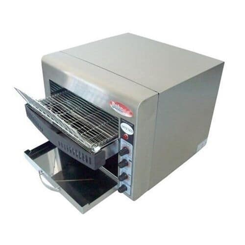 "Bakemax BMCT450 Conveyor Toaster - 360 Slices/hr w/ 2.5"" Product Opening, 220v/1ph"