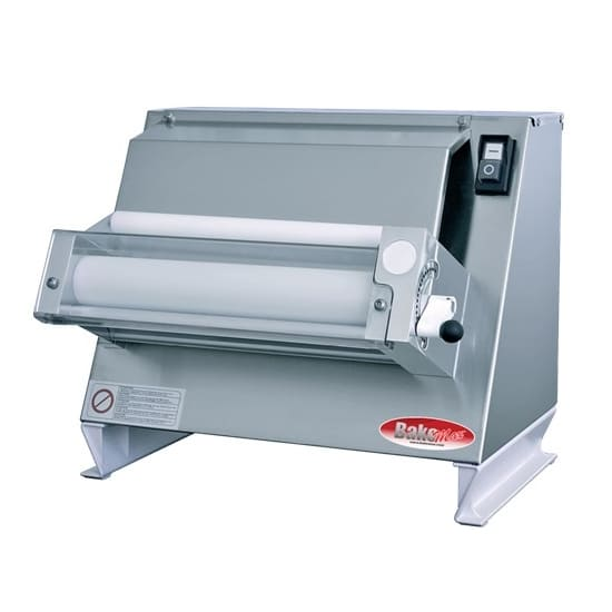 Bakemax BMEPS16 Compact Dough Sheeter - 400 Pieces/hr, Single Pass, Stainless