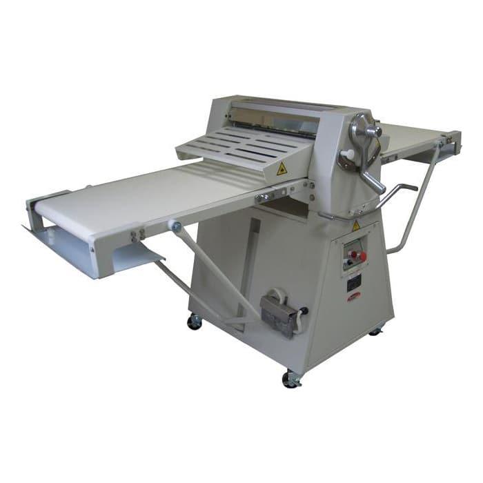 """Bakemax BMFRS01 Floor Model Dough Sheeter, Reversible, 17"""" X 79"""" Work Length, 208v/1ph"""