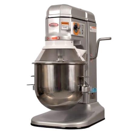 Bakemax BMPM012 12-qt Planetary Mixer w/ Stainless Bowl, Dough Hook, Flat Beater, 110v